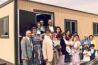 Grupo original en 1986 adelante del primer trailer